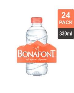 Agua Bonafont 330 Mililitros