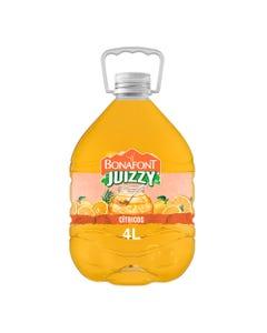 Juizzy Agua Fresca Con Jugo de Cítricos de Veracruz 4L