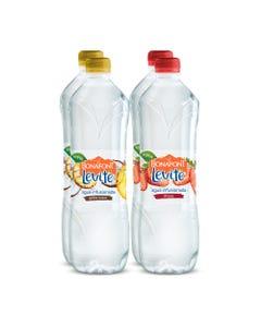 Levité Agua Infusionada Sabor Piña Coco y Fresa 2 packs 4x1L
